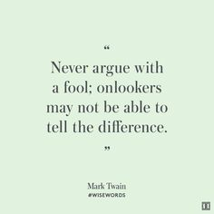 #WiseWords from Mark Twain