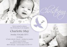 Christening Invitation by Coco & Ella Designs Christening Invitations, Youre Invited, Party Planning, Rsvp, Catholic, Reception, Daughter, Baptism Ideas, Children