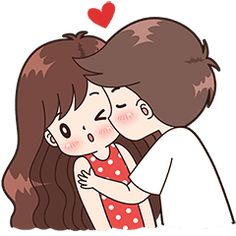 Boobib Cute Couples ( For Boy ) - Stickers dos criadores Cute Cartoon Images, Cute Love Pictures, Cute Love Gif, Cute Love Cartoons, Cute Cartoon Wallpapers, Love Cartoon Couple, Anime Love Couple, Cute Anime Couples, Cute Couple Drawings