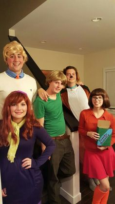 Halloween Group Costume. We went as the Scooby Doo gang! #Daphne #Scoobydoo