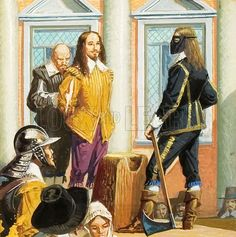 The execution of King Charles I, second son of King  James I and Anne of Denmark, in  1649 resulted in the Commonwealth of England period led by Oliver Cromwell (who was one of the signatories of King Charles I death warrant)