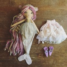 Image of Lilac mermaid Pixie (deluxe set)