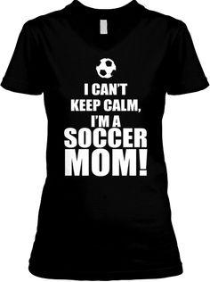 LIMITED EDITION Soccer Mom Shirt.