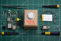 Netflix unveiled a prototype and how-to instructions to build your own 'Switch' to dim lights, order food, silence phone and start Netflix with the press of one button. Another guy hacked an Amazon Dash button, so he can order pizza with just one button push.