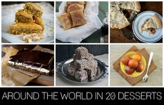 Around the world in 20 desserts from Best Friends for Frosting