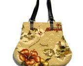 Tommy Bahama Fabric Handbag Purse