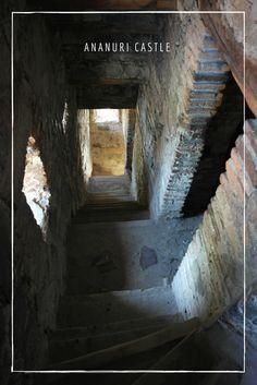 Inside of Ananuri Castle, Georgia