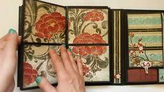 Interactive Folio Style Mini Album - Serenity