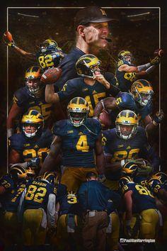 University of Michigan Football on Behance
