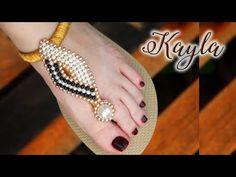 Beaded Bracelet Patterns, Beaded Bracelets, Shoe Makeover, Diy Candles, Ciabatta, Fasion, Flip Flops, Slippers, Beads