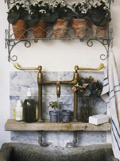 Potting shed sink