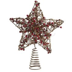 Country Star Tree Topper- Pier One
