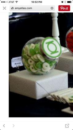 Green lantern candy                                                                                                                                                                                 More