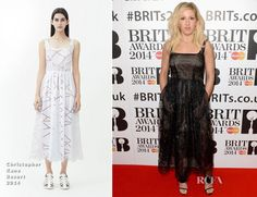 Ellie Goulding In Christopher Kane – BRIT Awards Nominations