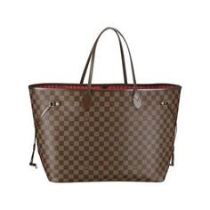Louis Vuitton Neverfull GM Brown Shoulder Bags ... Mmmhmm it's happening soon