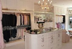 To die for closet!!