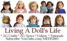 Living A Doll's Life - links and directions to several free patterns