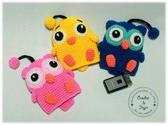 Crochet key cover