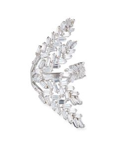 Fallon Monarch Deco Vertical Crystal Ring CcC8ZrZ