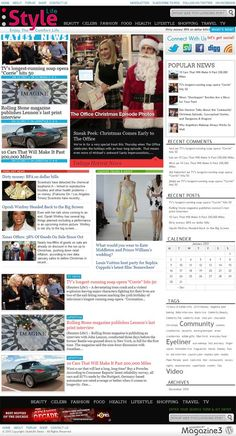 unique lifestyle magazine style premium WordPress theme from Magazine3