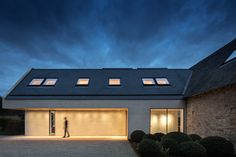 """Private Residence, Oxfordshire - dpa lighting consultants - """"Right Light, Right Place, Right Time"""" ™ Beautiful Homes, Landscape, Architecture, Places, Projects, House Of Beauty, Arquitetura, Log Projects, Lugares"""