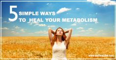 5 Simple Ways to Heal Your Metabolism -