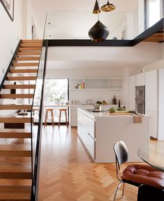 Contemporary Yet Cosy Kitchen