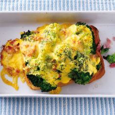 Brokkoli-Schinken-Brot