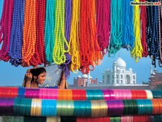 I have always loved this image it is truly about the colours of India :)