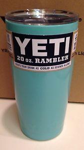 Yeti Rambler Tumbler Tiffany Blue Aqua 30oz Stainless