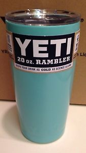 Yes we have them IN STOCK !  #Yeti Rambler Tumbler Tiffany Blue 20 oz Stainless Steel Mug Cup Free Shipping | eBay