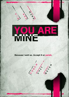 you are mine...