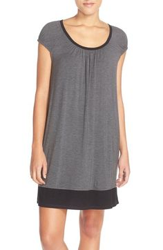 DKNY Stretch Modal Sleep Shirt available at #Nordstrom