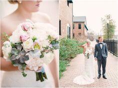Marietta Square Wedding, Brick Yard Wedding