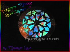 'Rainbow Mosaic Glow Locket™' is going up for auction at  8am Sun, Dec 2 with a starting bid of $5.