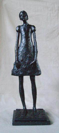 'Cherry Blossom' Commissioned bronze sculpture by South African artist: Grace da Costa. www.gracedacosta.com Bronze Sculpture, Sculpture Art, Sculptures, South African Artists, Les Oeuvres, Cherry Blossom, Statues, Costa, Sculpture