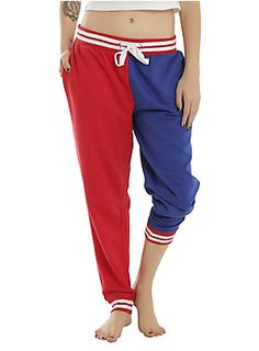 Geeky sweatpants for a day in  DC Comics Suicide Squad Harley Quinn Property Of Joker Girls Jogger