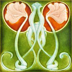 Henry Richards c1903 - Art Nouveau Tiles