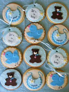 It's a boy cookies | Flickr - Photo Sharing!