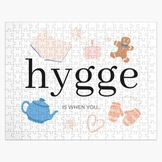 Danish Hygge, Metal Box, Print Packaging, Chipboard, Family Activities, Scandinavian Design, Jigsaw Puzzles, Just For You, Essentials