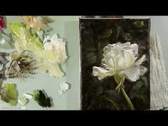Oil Painting Rose - YouTube