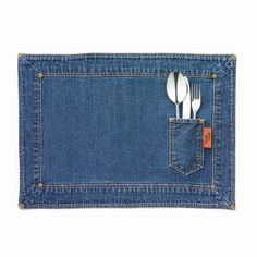 Denim Stone Washed Placemats