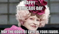 Happy Remicade Day! I no longer get remicade but to those who do, relax and enjoy your 3 hour treatment time.