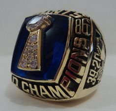 1986 New York Giants Ring. I remember that day like it was yesterday