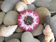 Dotpainted SEELENSTEINE by ArtAndBeing on Etsy, $32.00