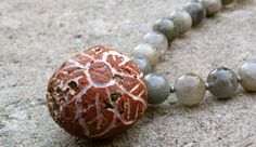 Pramita - limited edition. 54 bead labradorite by purplelotuslove, $81.00