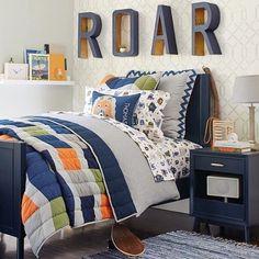 Color: Gray, Blue, Orange Style: Roar shelf Bed: Twin