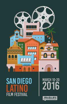 https://flic.kr/p/zjxb7L | Joseph_Converse_SanDiego | Poster Entry 23rd Annual San Diego Latino Film Festival (March 2016)  www.sdlatinofilm.com 619-230-1938