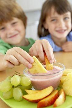 Healthy after-school snack