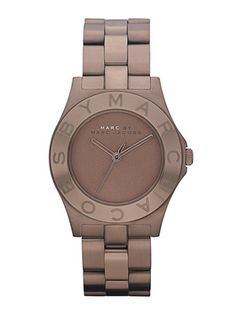 Marc by Marc Jacobs Watches Women's Blade Brown Watch